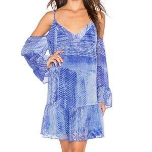 Rory Beca Blue Pattern Whim Dress